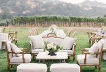 lounge   wedding / design a spectacular lounge for your guests to mingle during cocktails and dancing