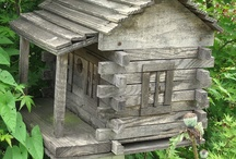 Rustic Birdhouses / by Karla Grove