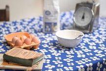 Swedish Retro Kitchen / New House Textiles have a collection of Swedish textiles and kitchen items