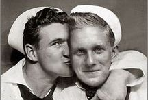 Vintage Male Friendship / A variety of images of male friendship