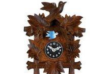 Cuckoo Clocks / German Black Forest Cuckoo Clocks / by oktoberfesthaus.com