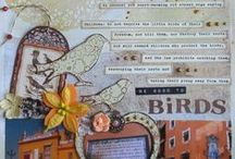 Scrapbooking / Layouts, mini albums and sometimes also cards in scrapbooking style!