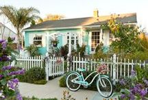 Beach Bum shack  / find an old midcentury place by the beach and pimp it out to mod perfection / by Angelique Greetham