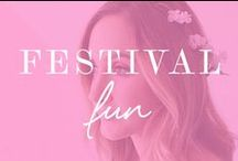 Festival Fun / Makeup, hair and fashion looks perfect for festival season. / by Makeup.com