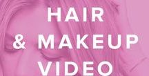 Hair & Makeup Videos Tutorials / Hair & makeup tutorials for everything from the perfect smoky eye to how to properly match foundation to your skin tone.