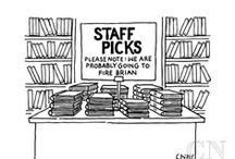 Staff Picks / Find your new favorite book with our staff recommendations!