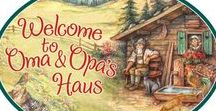 Oma & Opa Gifts / Great unique gifts for european grandparents. For example, Grandma is Oma, and Grandpa is Opa.
