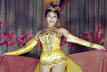 BurlyQ / Showgirl inspiration from vintage costume pieces, kittens of the stage, to modern movers & shakers.