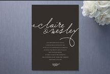 wedding: invites. save the dates. / Wedding Invitations.  Wedding Save The Dates.  Engagement Announcements.