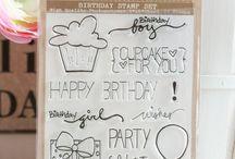 Birthday Stamp Set {Retired}