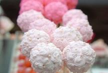 food pins: cake pops.
