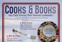 Cooks & Books / Join us once a month for Cooks & Books, where Connecticut's top chefs come to discuss their favorite cookbook! Visit our website for more details www.westhartfordlibrary.org / by West Hartford Libraries