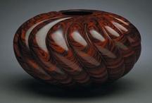 Turned Wood - Carved