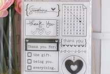 Thanks Stamp Set Projects