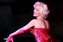 Life behind the footlights  / Snap shots from live performances & behind the scenes of this gal's burlesque life.