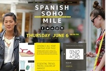 Spanish Soho Mile '13: Join the yellow party! / Spanish Soho Mile Style: NY meets Spanish fashion