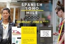 Spanish Soho Mile '13: Join the yellow party! / Spanish Soho Mile Style: NY meets Spanish fashion