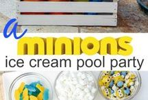 Party Themes / Are you planning a themed Party? Here's a collection of simple Disney Party themes, Nickelodeon Party Themes, Cartoon Network Party themes, Party theme for girls and boys.