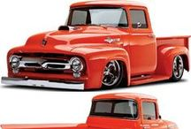 BSI's '56 F 100! / Bodie Stroud's Build of the '56 F 100!  www.bodiestroud.com 2014