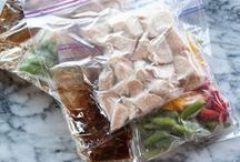 Meal Planning and Freezer Meals / Make-ahead lunches and dinners! / by Kristine Underwood