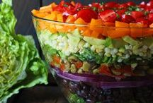 Can I Have the Big Salad? / Yummy Salads and Dressing! / by Kristine Underwood
