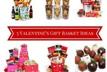 Valentines Gift Basket Ideas / Looking for Valentines Gift Basket Ideas? We've put togather or favorite Valentines Gift Baskets from