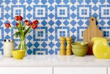 Granada Tile Brings Summer Into Your Home / Bring the look of summer in your kitchen, your bathroom, or your outdoor areas by adding a decorative touch with any of these colorful tiles that are in stock and ready to ship