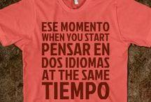 Porque el español es genial! / by Rebekah Cunningham