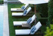 patios + outdoor spaces + pools / by Van Rozeboom Interiors