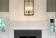 fireplaces / by Van Rozeboom Interiors
