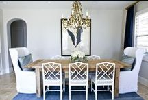 dining area & breakfast nooks / dining rooms, breakfast areas, nooks, places to eat / by Van Rozeboom Interiors