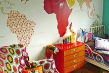 Girl's bedroom - all ages / I have twin girls, they will be 7 soon and I am in the process of renovating their nursery into a Big Girl's bedroom. It will act as a playroom and a place to sleep.