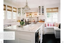 Kitchen love / I need a kitchen renovation, I have a couple of years to wait. In the meantime I am pinning kitchen ideas to my favourite board.
