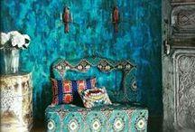 Decorating - Bohemian / by Chamara Pansegrouw (Gypsy Purple)