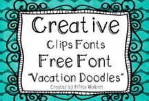 Fantastic fonts, doodles, and designs / by Janet Moro-Amato