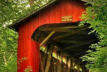 Covered Bridges / by * Mitzi *