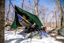 Hammock camping stuff