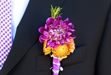 Purple & Orange Wedding