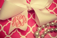 Bows&Pearls. / Bows and pearls make for a classy girl(: / by Christen Edens