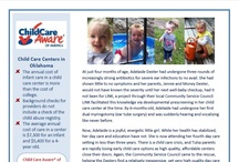 Stories Behind the Issues / One-pagers featuring Child Care Aware of America Parent Leaders.