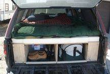 Truck camping setups / Like it says on the tin.