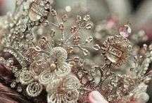 Crowns ; flower crowns & headgear / by Chamara Pansegrouw (Gypsy Purple)