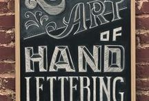 hand lettering and more