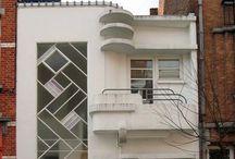 art deco.streamline moderne. / streamline moderne architecture