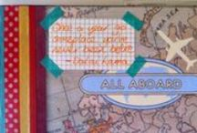 Travel journal / What a great way to remember your holidays both for adults and  for children. Create a travel journal to remember your great family holidays