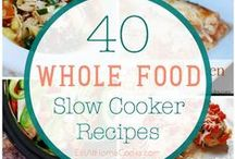 Crock-Pot Recipes / Slow-cooker, Crock-pot meals for you and your busy family! Make ahead, simple, meal planning, freezer ideas! Healthy, homemade and cheap. Lets EAT!