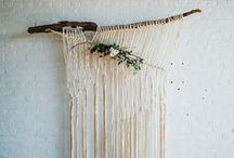 Modern Bohemian Weddings / Inspiration from around the world for Macramé & Weddings