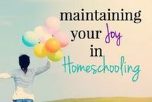 Encouragement for Homeschooling Parents / We all need encouragement. Here are links to tips, posts, ideas, and articles to deal with the good days and bad days. For busy families, homeschooling and students.