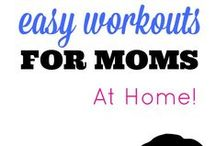 Workouts for busy Mom's / Mom's need to self-care, workouts, exercise plans, fitness plans, HiiT, Cardio, Yoga, weights, Cardio plans and more! WAHM, SAHM, Moms in general, lets take care of ourselves so we can care for our family!