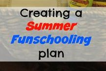 Summer Learning Activites / Learning Ideas for summer. Homeschool Grades Pk-12. Elementary Grades, Middle School and High School Ideas for all children. Keep Summer from being boring!